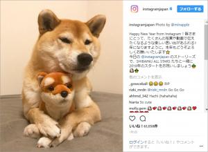Instagram社:2018年の年始投稿画像