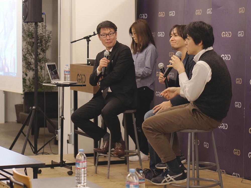 佐藤 基 氏、武内、石川によるパネルディスカッションの様子