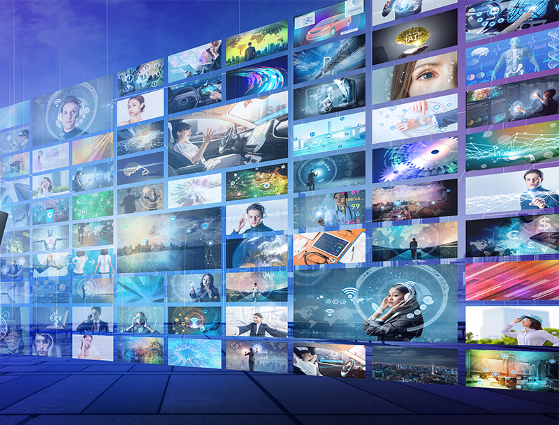 イメージ画像:映像配信サービス系企業
