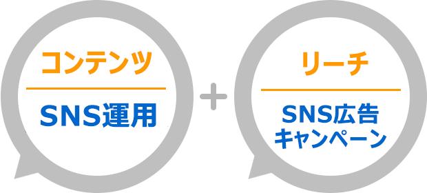 SNS運用でコンテンツマーケティング強化し、SNS広告とキャンペーン施策でリーチを強化、